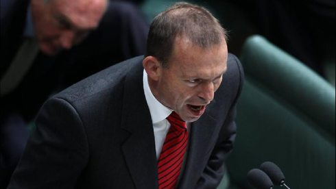 Agressive Abbott